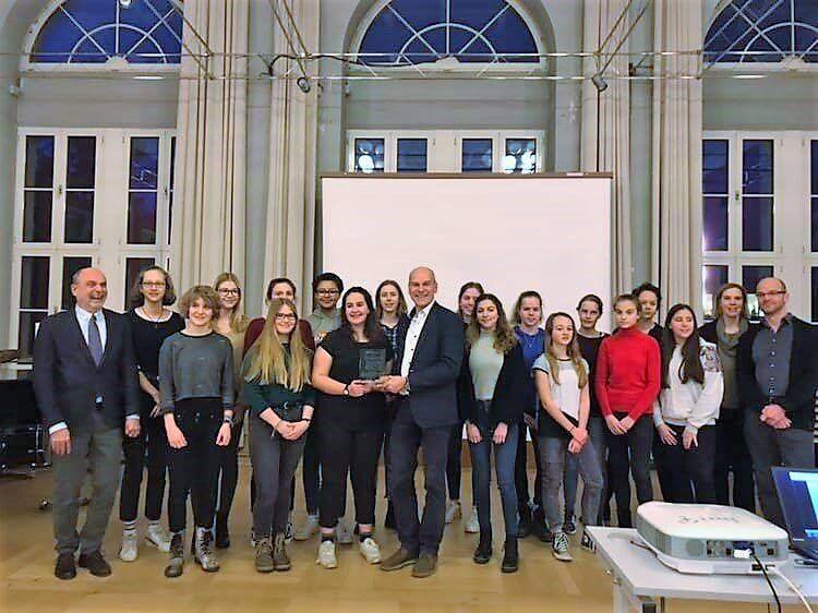 "Preisverleihung ""Jugend zeigt Zivilcourage"" 2018"