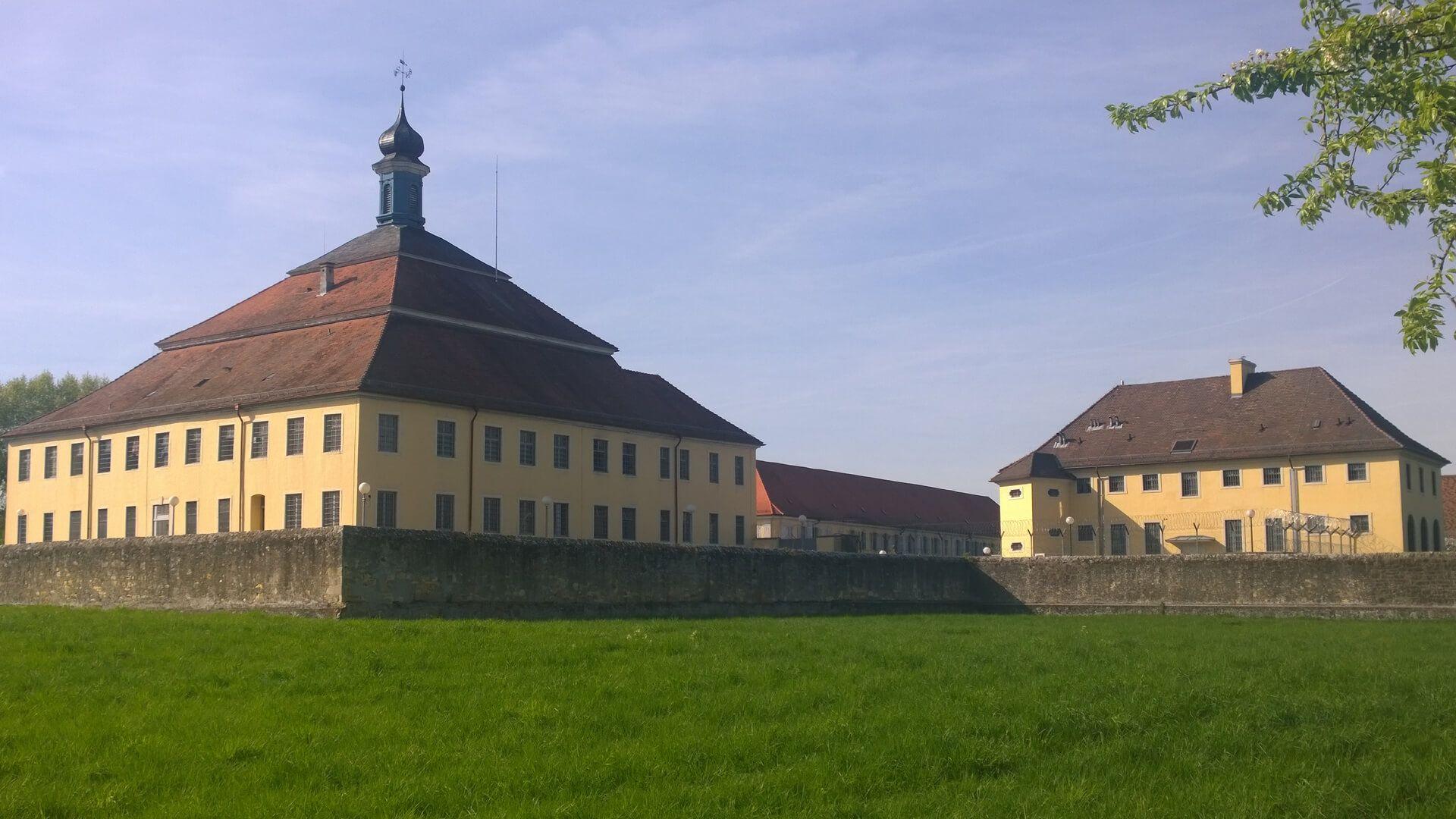 Aktuelle Ansicht vom Schloss Kislau aus Südosten